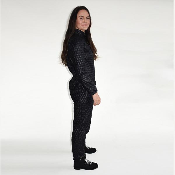 varm jumpsuit til kvinder - buksedragt til udendørs brug