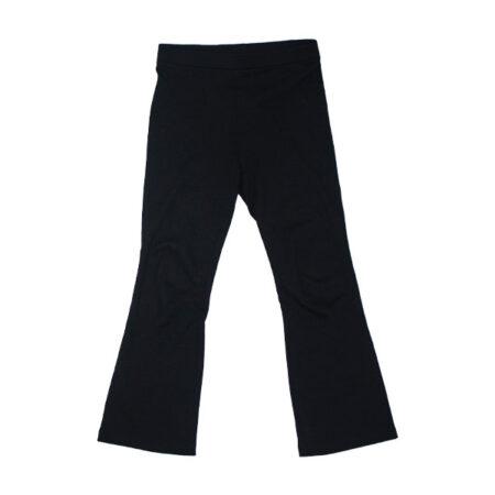 Sorte bukser med svaj i lækker kvalitet