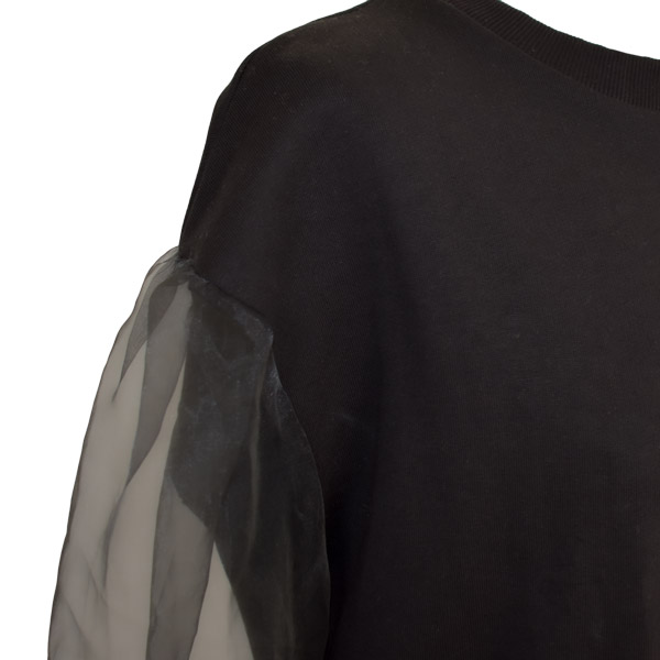 vintermode - organza ærmer på trøje