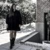 Trendy sorte læderstøvler i westernstil til stilbevidste kvinder