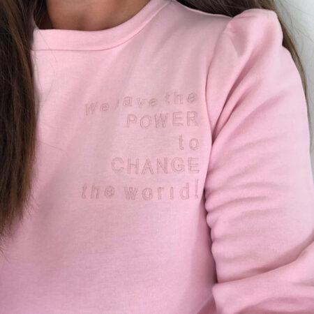 puff sweatshirt